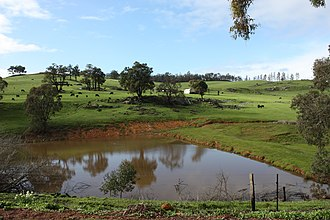 Bridgetown, Western Australia - Image: Bridgetown landscape