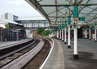 Bridlington railway station - Station platforms