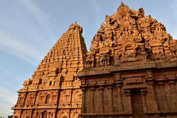 Brihadishwara Temple, Dedicated to Shiva, built by Rajaraja I, completed in 1010, Thanjavur (125) (37449578356).jpg