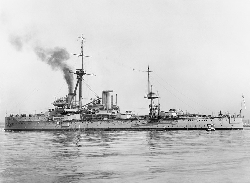 File:British Battleships of the First World War; HMS Dreadnought Q21183.jpg