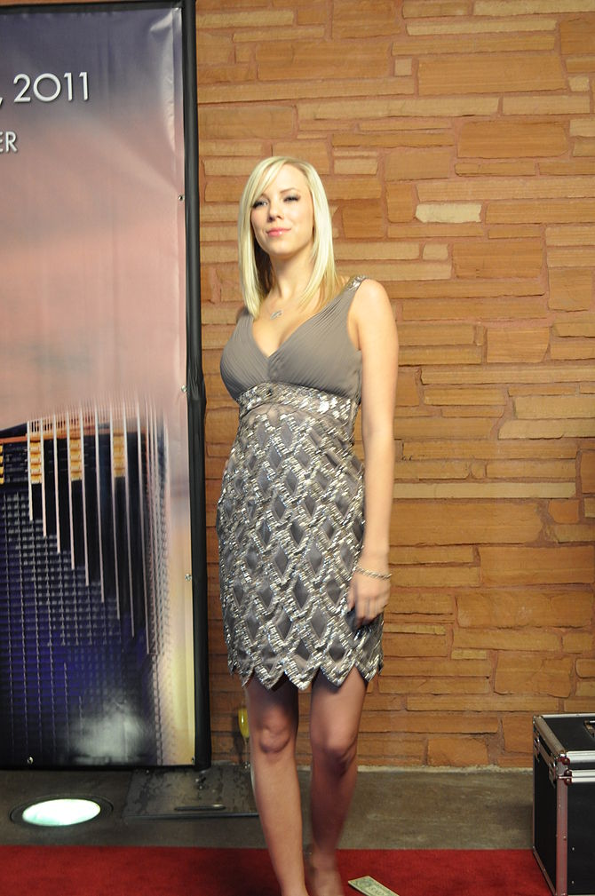 Britney Beth (BiBi Jones) at AVN Awards 2011