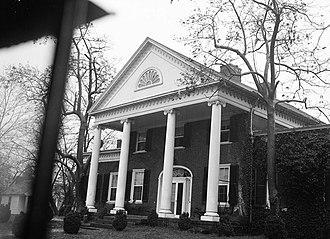 National Register of Historic Places listings in Fredericksburg, Virginia - Image: Brompton, Sunken Road & Hanover Street (Fredericksburg, Virginia)