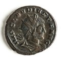 Bronsmynt med Claudius II - Skoklosters slott - 110726.tif