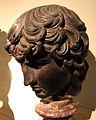 Bronzo pseudoantico di fattura fiorentina, antinoo, epoca di cosimo I de' medici, 03.JPG