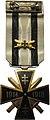 Bronzovy pozlateny Kriz svetovej vojny 2 stupna Slovenskej republiky 1939 az 1944.jpg