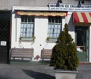 Brooklyn Ice Cream Factory - Brooklyn Ice Cream Factory in Greenpoint