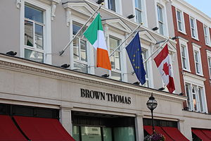 English: Brown Thomas department store in Dubl...