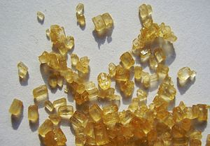 Brown sugar - Brown sugar crystals