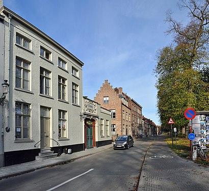 Hoe gaan naar Buiten Gentpoortvest met het openbaar vervoer - Over de plek