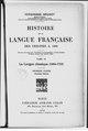 Brunot - Histoire de la langue française, des origines à 1900 — Tome 4, Première partie.pdf