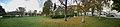 Brynjulv Bergslien Nils Bergslien Knut Bergslien Monument 1928 Uttrågata Vangsvegen Vangskyrkja Bergsliplassen park Voss Norway 2016-10-25 distorted panorama.jpg