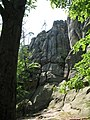 Bubnysche, Dovbush rock - panoramio - Сергій Стецюк (5).jpg
