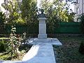 Bucuresti, Romania, Bustul lui Dimitrie Onciul situat in curtea Cladirii Arhivelor Nationale avand codul B-II-m-B-18690 (2).JPG