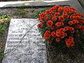 Bucuresti, Romania, Cimitirul Bellu Catolic (mormantul bunicului si strabunicului lui Lech Haczynski-presedintele Poloniei) (2).JPG