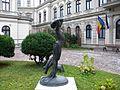 Bucuresti, Romania. Muzeul Colectiilor de Arta (Palatul Romanit) Intrarea 2; B-II-m-B-19862.JPG
