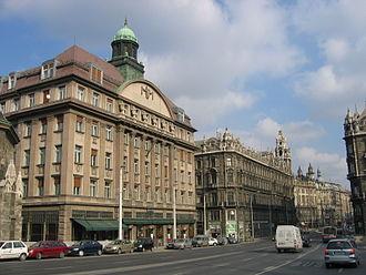 Inner City (Budapest) - Szabad sajtó út near Ferenciek tere