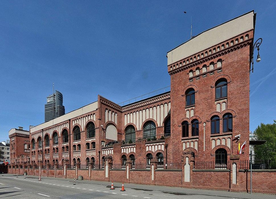 Budynek Muzeum Powstania Warszawskiego 2017