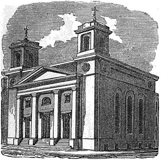 Solomon Willard - Image: Bulfinch St Church Boston Homans Sketches 1851
