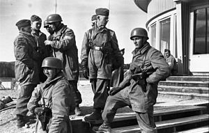 Operation Slapstick - German paratroops (Fallschirmjäger) of Fallschirmjäger-Regiment 1.