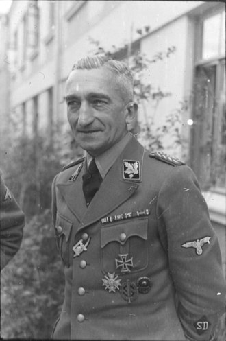 Arthur Nebe - Nebe in 1942, as chief of the Reichskriminalpolizeiamt.