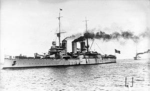 Pisa-class cruiser - Image: Bundesarchiv Bild 102 13142, Italienisches Panzerschiff