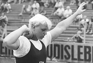 Doping in sport - Ilona Slupianek in 1981.