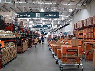 Bunnings Warehouse - Bunnings Warehouse interior