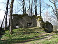 Burg Rothenstein (Bad Grönenbach) 20 - Nordwestwand.JPG