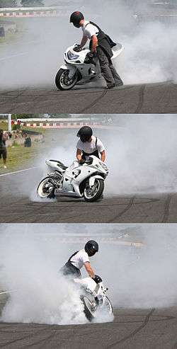 Motorcycle stunt riding - Wikipedia