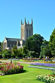 Bury St Edmunds market town and civil parish in the county of Suffolk, England