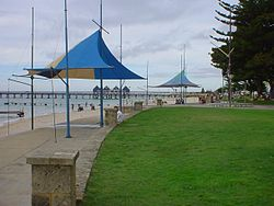 Busso foreshore