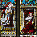 Buttevant St. Mary's Church East Transept Window Lower Lights Christ on the Mount of Olives 2012 09 08.jpg