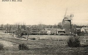 Button's Mill, Diss - Image: Button's Mill, Diss