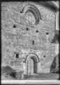 CH-NB - Concise, Ancienne Chartreuse de La Lance, église, vue partielle extérieure - Collection Max van Berchem - EAD-7340.tif
