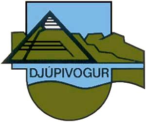 Icelandic heraldry - Image: COA Djúpavogshreppur