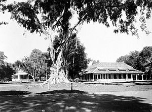 Hogere Burgerschool - The King William III HBS in Batavia (now Jakarta) in the years 1910-1932