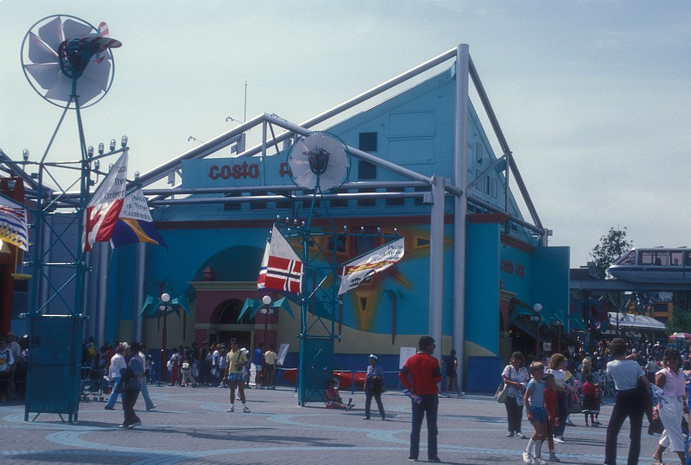 COSTA RICA PAVILION AT EXPO 86, VANCOUVER, B.C.