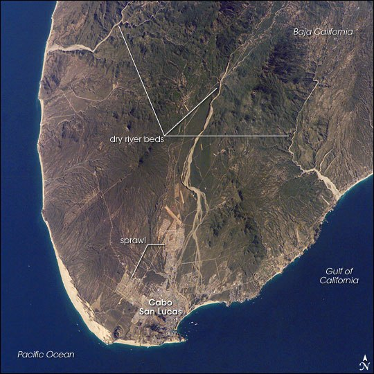 CaboSanLucas ISS012-E-7151 annotated