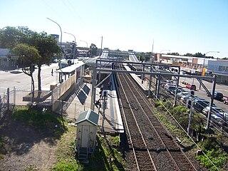 Cabramatta railway station railway station in Sydney, New South Wales, Australia