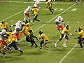 Cal on offense at 2008 Emerald Bowl 19.JPG
