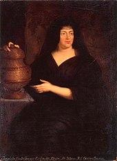 Portrait of Helena Tekla Lubomirska née Ossolińska as Pandora.