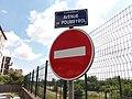 Caluire-et-Cuire - Avenue de Poumeyrol, plaque.jpg
