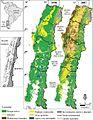 Cambio uso del suelo zona centro sur de chile 1550 a 2007.jpg
