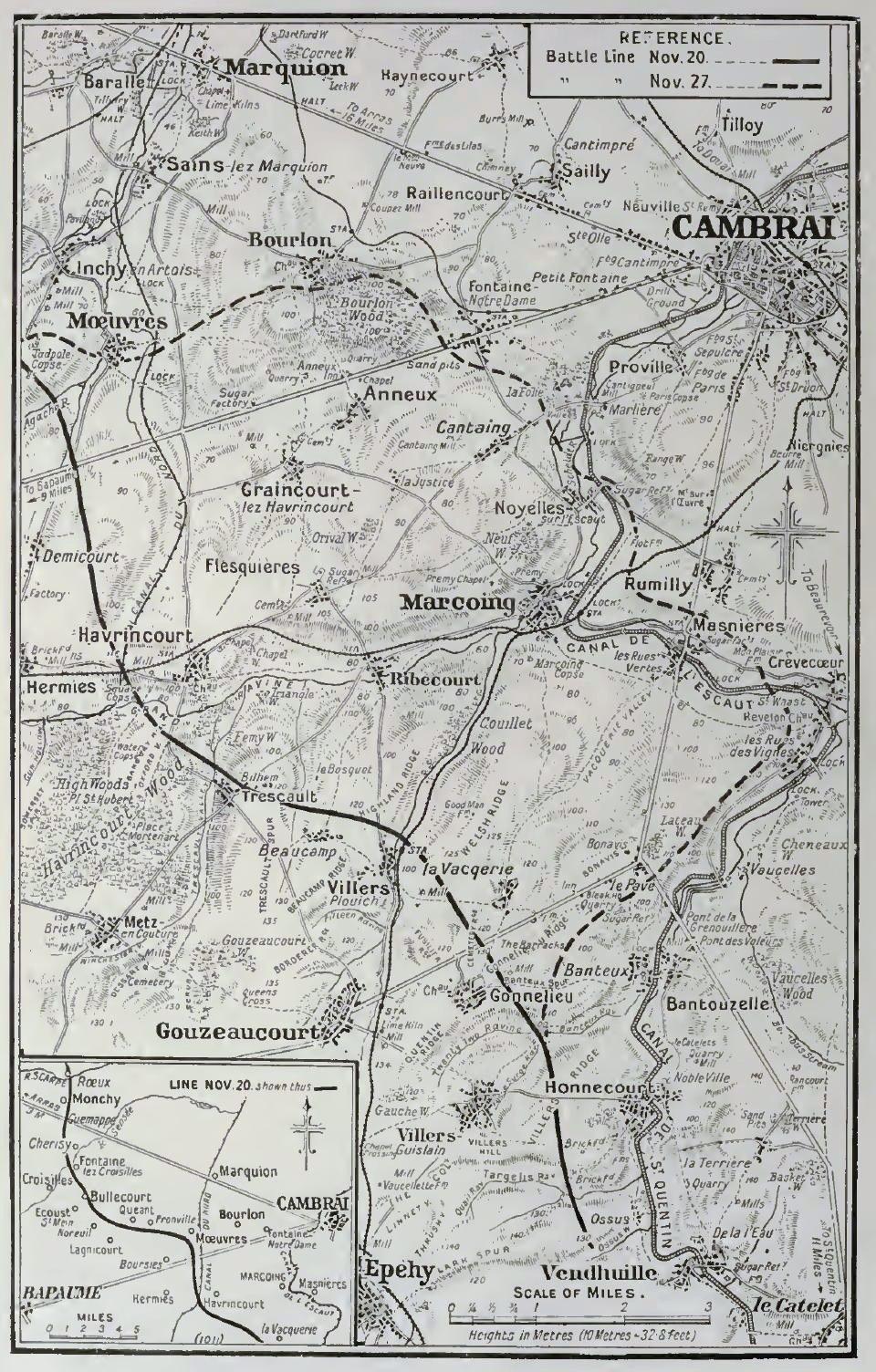 Cambrai area 1917