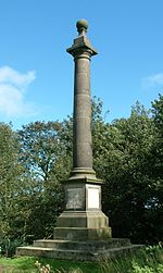 Camphill Column, Alnwick - 2011-09-12