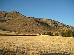 Countryside in the Comarca de Antequera.