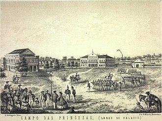 Frei Caneca - Recife being captured by Pernambucan rebels