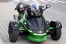 BRP Can-Am Spyder Roadster - Wikipedia