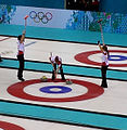 Canada won gold in the women's tournament at the 2014 Winter Olympics.jpg