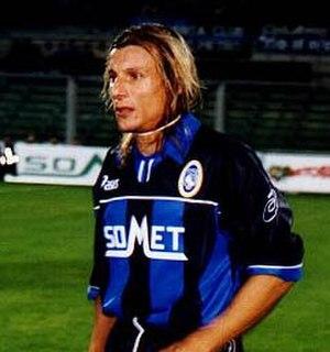 Claudio Caniggia - Caniggia with Atalanta in 1999